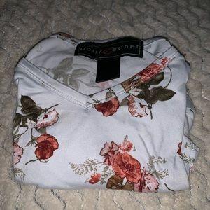 Rue 21 floral short sleeve